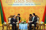 Burma Holds 4th GMS Summit