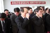 <Kim Jong-il dead> DPRK People Shed Tears in Beijing