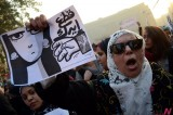 Egyptian Women Protest against Ruling Military