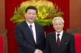 Xi Jinping Meets Nguyen Phu Trong