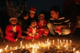 An Indian Family Celebrates Christmas
