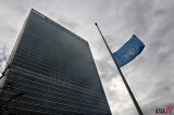 UN Raises a Flag at Half-Mast for Kim