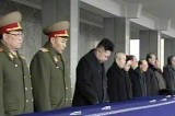 Kim Jong-un Attends the National Memorial Service