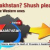 Bloodshed in Kazakhstan? Shush please