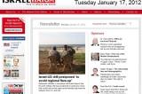 <Top N> Israel on 17 January 2012