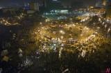 Egytians Celebrate 1yr of Jan. 25th Revolution