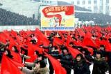 P'yang Holds a Mass Rally