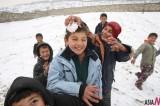 First Snow Makes Children Happy