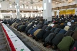 Syria Mass Funeral for 26 Casualties