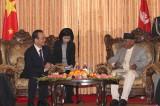 Wen Jia-bao Meets Nepali President