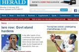 <Top N> India on 6 February 2012