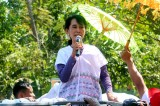 Aung San Suu Kyi Starts her Campaign Trail