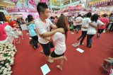 Hugging Competition in Thailand