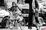 Little Beggars on the Street in Pakistan