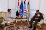 Pelosi Meets Hussein Tantawi in Egypt