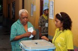 Timorese Vote for the Election of 3rd President