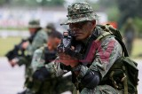 Philippine Marines in Counter-Insergency Drill