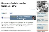 <Top N> Major news in Malaysia on April 19 2012