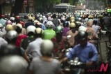 Worsening Traffic Jam In Hanoi