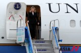 U.S. State Secretary Arrives In Istanbul