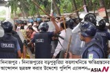 Coalmine villagers clash with police over compensation in Bangladesh