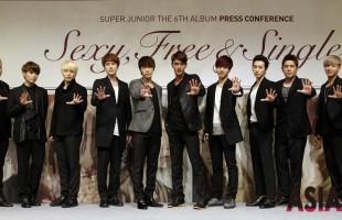 Super Junior to Release 6th Album 'Sexy, Free & Single'