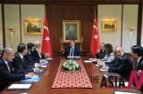 Turkish President Meets Italian Business Delegation
