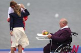 Only Disabled Medal Man At London Olympics Performs His Duty