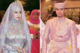 Princess of Brunei celebrates marriage with spectacular ceremony