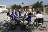 Disabled Basketball Players Practice For Coming Tournament In Afghanistan