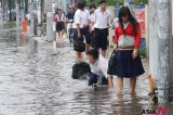 Streets In Ho Chi Minh City Flooded By Heavy Rain