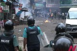 Bangladesh Islamist party fights street battle