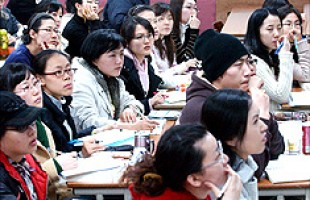 Foreign Student's first experience of taking school exams in Korea