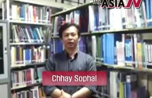 [The AsiaN 1st Anniv] Message from Chhay Sophal