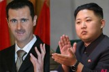 Leaders Of NK, Syria destined to be the same in way of losing their grip on people