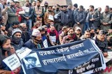Nepali journalists stand up against gov't for not punishing Maoists who killed a journalist
