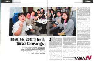 'The AsiaN' Makes Its Debut on Turkish Mag