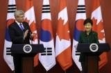 South Korea and Canada to sign FTA