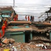 Earthquake in Nepal: Rubbles, dust and corpses