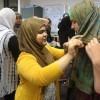 Non-Muslim American oppose Islamophobia by wearing hijabs