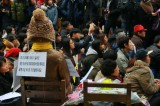 """Wednesday Demonstrations"" in condolence with Comfort Women continue"
