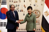 Egyptian president visit to South Korea is concluded with financial cooperation