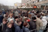 First Soviet McDonald's opens in 1990