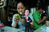 Chinese artist crafts figures of G20 leaders from rice
