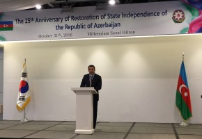 Azerbaijan Celebrated the Independence Day in Seoul
