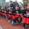 Moms and Dads Sports Day marked in China
