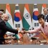 Development in Korea, India