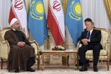 Rouhani and Nazarbayev sign 5 co-op documents