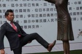 Taiwanese protest after Japanese man kicked comfort woman statue