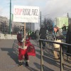 Dusted Black Santa did one-man protest at COP24s of the Poland Climate Change Convention